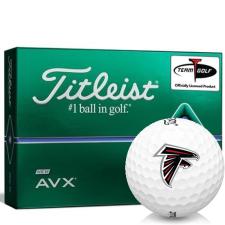 Titleist AVX Atlanta Falcons Golf Balls
