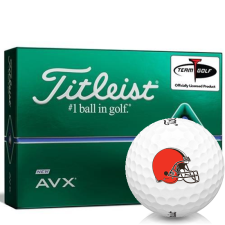Titleist AVX Cleveland Browns Golf Balls