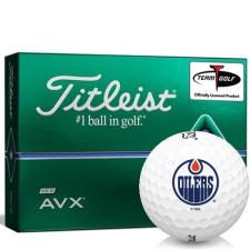 Titleist AVX Edmonton Oilers Golf Balls