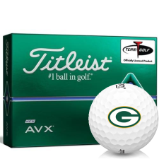 Titleist AVX Green Bay Packers Golf Balls