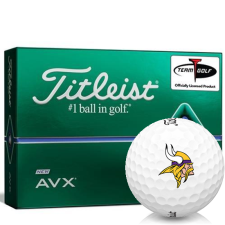Titleist AVX Minnesota Vikings Golf Balls