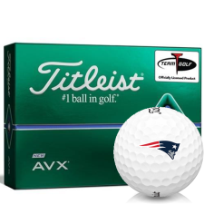Titleist AVX New England Patriots Golf Balls