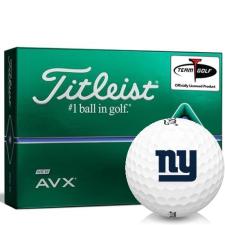Titleist AVX New York Giants Golf Balls