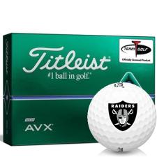 Titleist AVX Oakland Raiders Golf Balls
