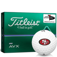 Titleist AVX San Francisco 49ers Golf Balls