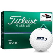 Titleist AVX Seattle Seahawks Golf Balls