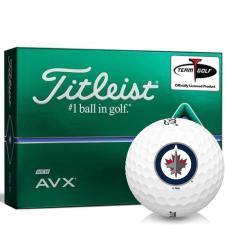 Titleist AVX Winnipeg Jets Golf Balls