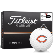 Titleist Pro V1 Chicago Bears Golf Balls