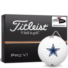 Titleist Pro V1 Dallas Cowboys Golf Balls