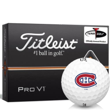 Titleist Pro V1 Montreal Canadiens Golf Balls