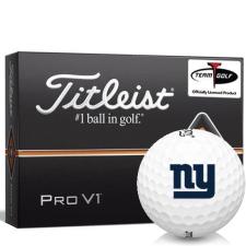 Titleist Pro V1 New York Giants Golf Balls