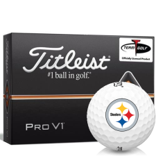 Titleist Pro V1 Pittsburgh Steelers Golf Balls
