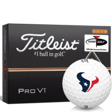 Titleist Pro V1 High Number Houston Texans Golf Balls