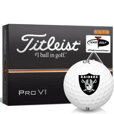 Titleist Pro V1 High Number Oakland Raiders Golf Balls