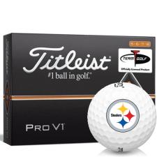 Titleist Pro V1 High Number Pittsburgh Steelers Golf Balls