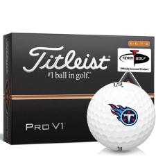 Titleist Pro V1 High Number Tennessee Titans Golf Balls