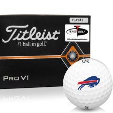 Titleist Pro V1 Player Number Buffalo Bills Golf Balls - All #1's