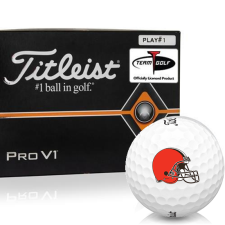 Titleist Pro V1 Player Number Cleveland Browns Golf Balls - All #1's