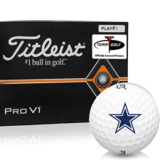 Titleist Pro V1 Player Number Dallas Cowboys Golf Balls - All #1's