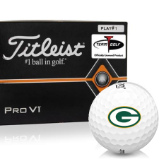 Titleist Pro V1 Player Number Green Bay Packers Golf Balls - All #1's