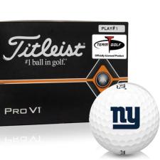 Titleist Pro V1 Player Number New York Giants Golf Balls - All #1's