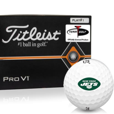 Titleist Pro V1 Player Number New York Jets Golf Balls - All #1's