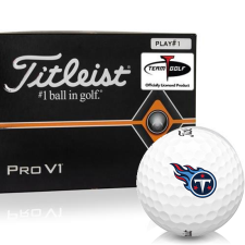 Titleist Pro V1 Player Number Tennessee Titans Golf Balls - All #1's