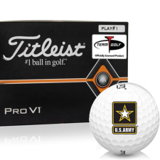 Titleist Pro V1 Player Number US Army Golf Balls - All #1's