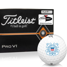 Titleist Pro V1 Player Number US Coast Guard Golf Balls - All #1's