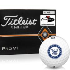Titleist Pro V1 Player Number US Navy Golf Balls - All #1's