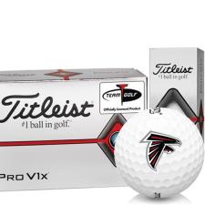 Titleist Pro V1x Half Dozen Atlanta Falcons Golf Balls - 6 Pack