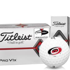 Titleist Pro V1x Half Dozen Carolina Hurricanes Golf Balls - 6 Pack