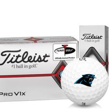 Titleist Pro V1x Half Dozen Carolina Panthers Golf Balls - 6 Pack
