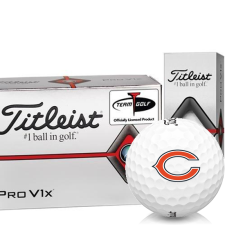 Titleist Pro V1x Half Dozen Chicago Bears Golf Balls - 6 Pack