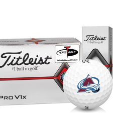 Titleist Pro V1x Half Dozen Colorado Avalanche Golf Balls - 6 Pack
