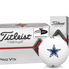 Titleist Pro V1x Half Dozen Dallas Cowboys Golf Balls - 6 Pack