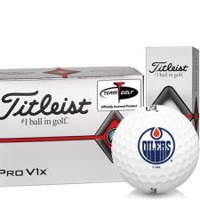 Titleist Pro V1x Half Dozen Edmonton Oilers Golf Balls - 6 Pack