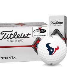 Titleist Pro V1x Half Dozen Houston Texans Golf Balls - 6 Pack