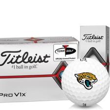 Titleist Pro V1x Half Dozen Jacksonville Jaguars Golf Balls - 6 Pack
