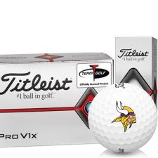 Titleist Pro V1x Half Dozen Minnesota Vikings Golf Balls - 6 Pack