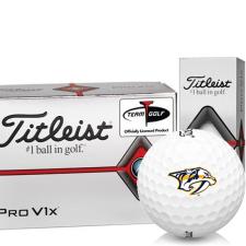 Titleist Pro V1x Half Dozen Nashville Predators Golf Balls - 6 Pack