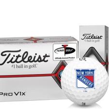 Titleist Pro V1x Half Dozen New York Rangers Golf Balls - 6 Pack