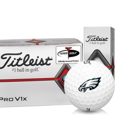 Titleist Pro V1x Half Dozen Philadelphia Eagles Golf Balls - 6 Pack