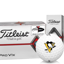 Titleist Pro V1x Half Dozen Pittsburgh Penguins Golf Balls - 6 Pack
