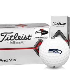 Titleist Prior Generation Pro V1x Half Dozen Seattle Seahawks Golf Balls - 6 Pack