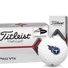 Titleist Pro V1x Half Dozen Tennessee Titans Golf Balls - 6 Pack