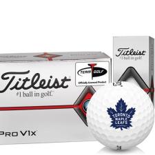 Titleist Pro V1x Half Dozen Toronto Maple Leafs Golf Balls - 6 Pack