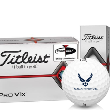 Titleist Pro V1x Half Dozen US Air Force Golf Balls - 6 Pack