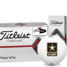 Titleist Pro V1x Half Dozen US Army Golf Balls - 6 Pack