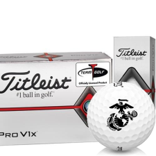 Titleist Pro V1x Half Dozen US Marine Corps Golf Balls - 6 Pack